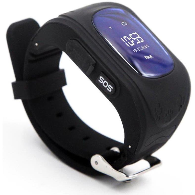 Смарт-годинник GOGPS ME K50 Чорний (K50BK) Сумісність Android OS