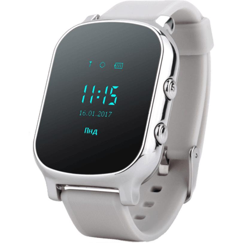 Смарт-годинник GOGPS ME К20 Хром (K20CH) Функціональність дитячі