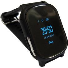 Смарт-годинник GOGPS ME К20 Чорний (K20BK)