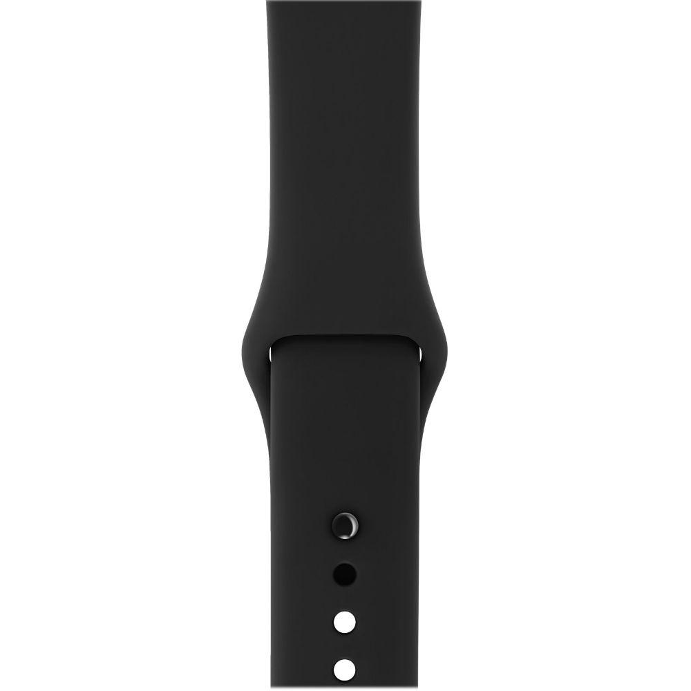 Смарт-часы APPLE Watch Series 3 GPS 38mm Space Grey Aluminium Case with Black Sport Band (MTF02FS/A) Операционная система Watch OS