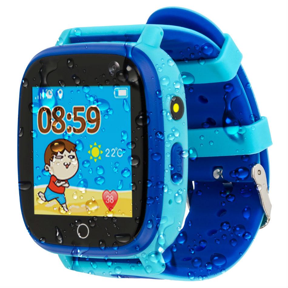 Смарт-часы AMIGO GO001 iP67 Blue Функциональность детские