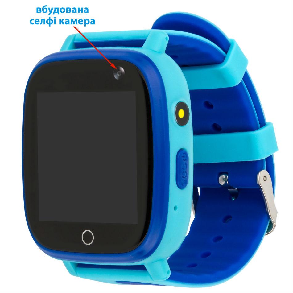 Смарт-часы AMIGO GO001 iP67 Blue Операционная система другая