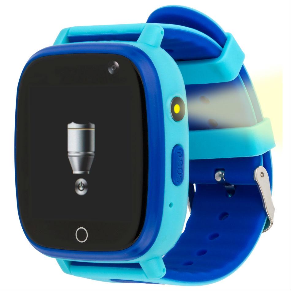 Смарт-часы AMIGO GO001 iP67 Blue Совместимость Android OS