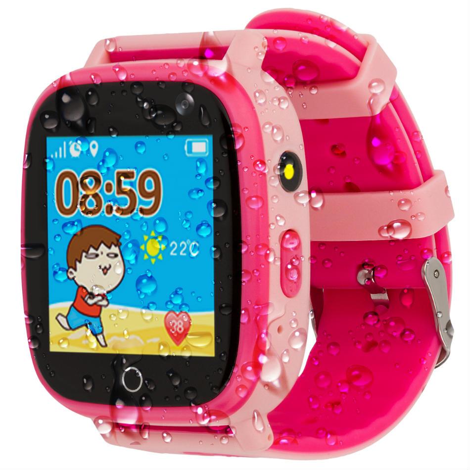 Смарт-годинник AMIGO GO001 iP67 Pink Операційна система інша