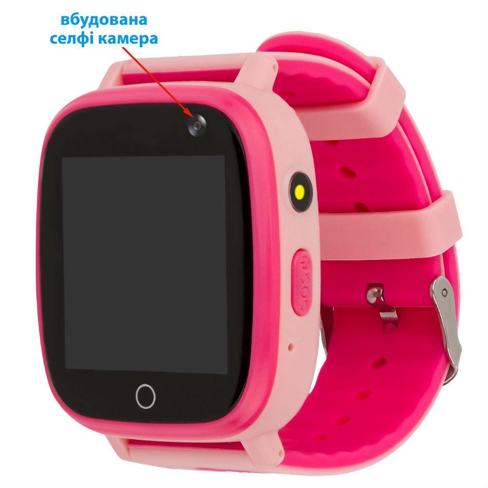 Смарт-годинник AMIGO GO001 iP67 Pink Сумісність Android OS