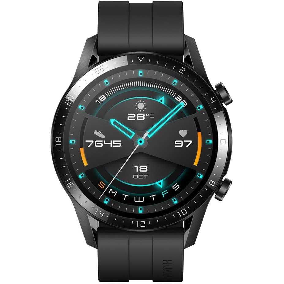 Смарт-часы HUAWEI Watch GT 2 Sport Black (55024474) Совместимость Android OS