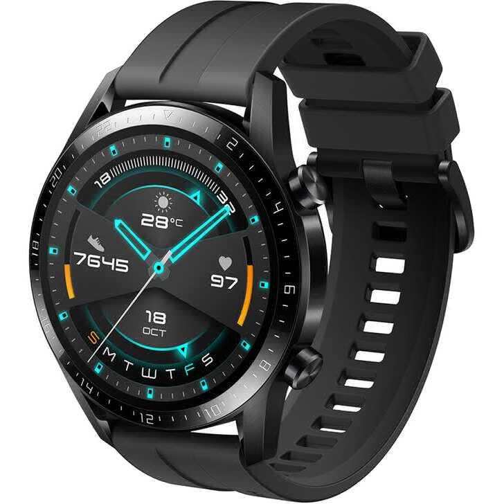 Смарт-часы HUAWEI Watch GT 2 Sport Black (55024474) Операционная система Lite OS