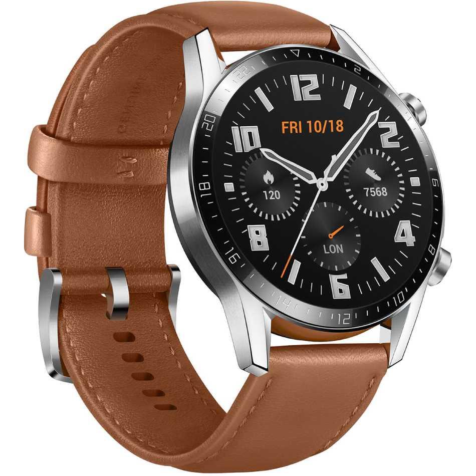 Смарт-часы HUAWEI Watch GT 2 Classic Silver (55024470) Операционная система Lite OS