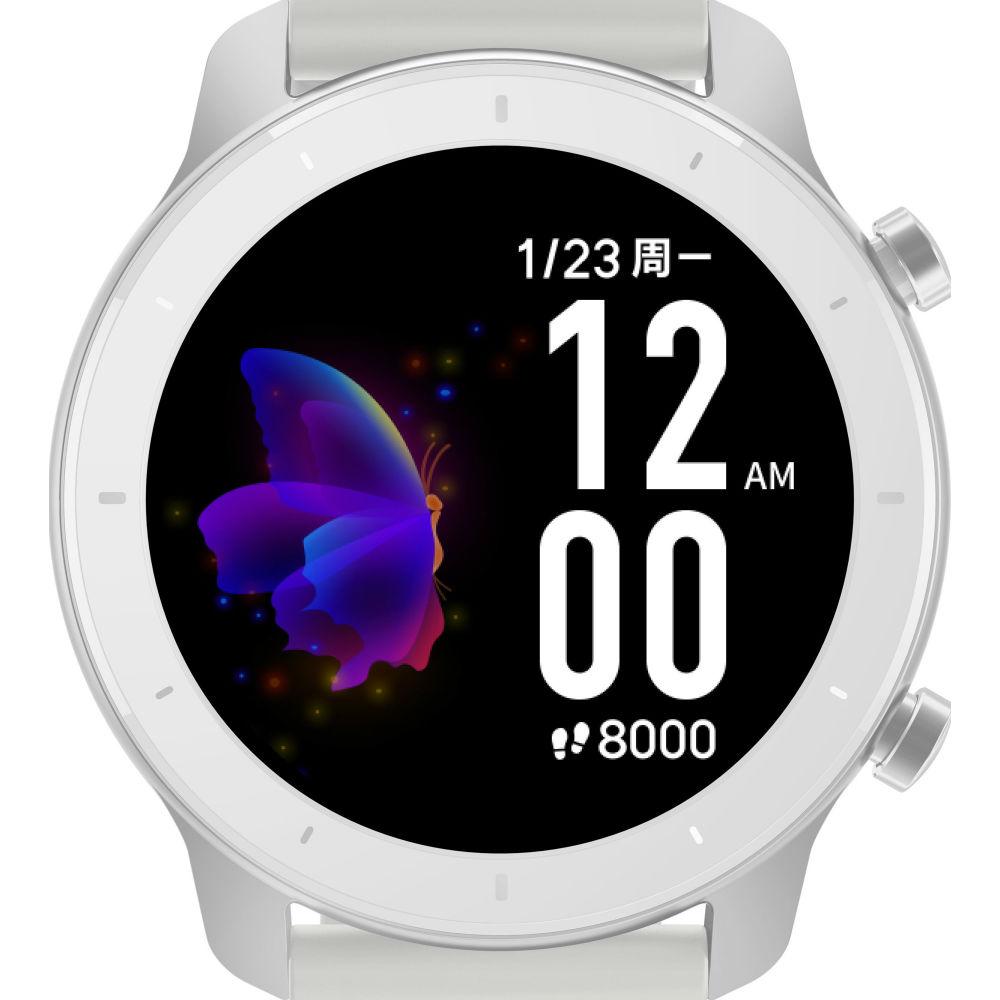 Смарт-часы XIAOMI Amazfit GTR 42 mm White Совместимость Android OS