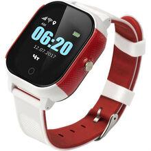 Смарт-годинник GOGPS К23 white/red (K23WHRD)