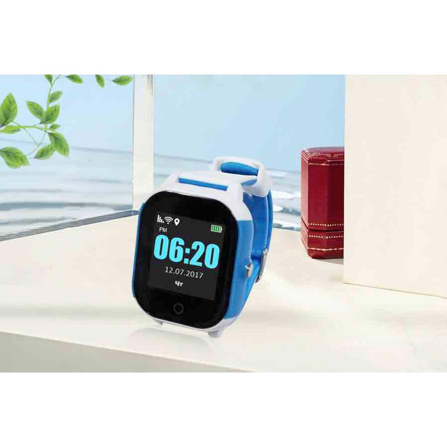 Смарт-годинник GOGPS К23 white/blue (K23BLWH) Операційна система інша