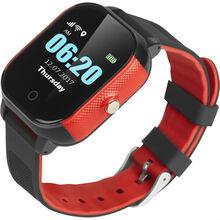 Смарт-часы GOGPS К23 red/black (K23BKRD)