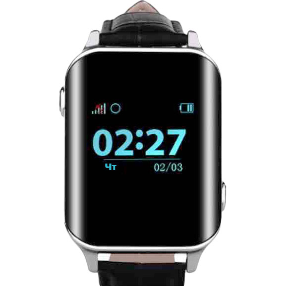 Смарт-годинник GOGPS М01 chrome (M01CH) Функціональність для дорослих