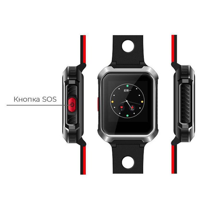 Смарт-годинник GOGPS М02 black (M02BK) Функціональність для дорослих