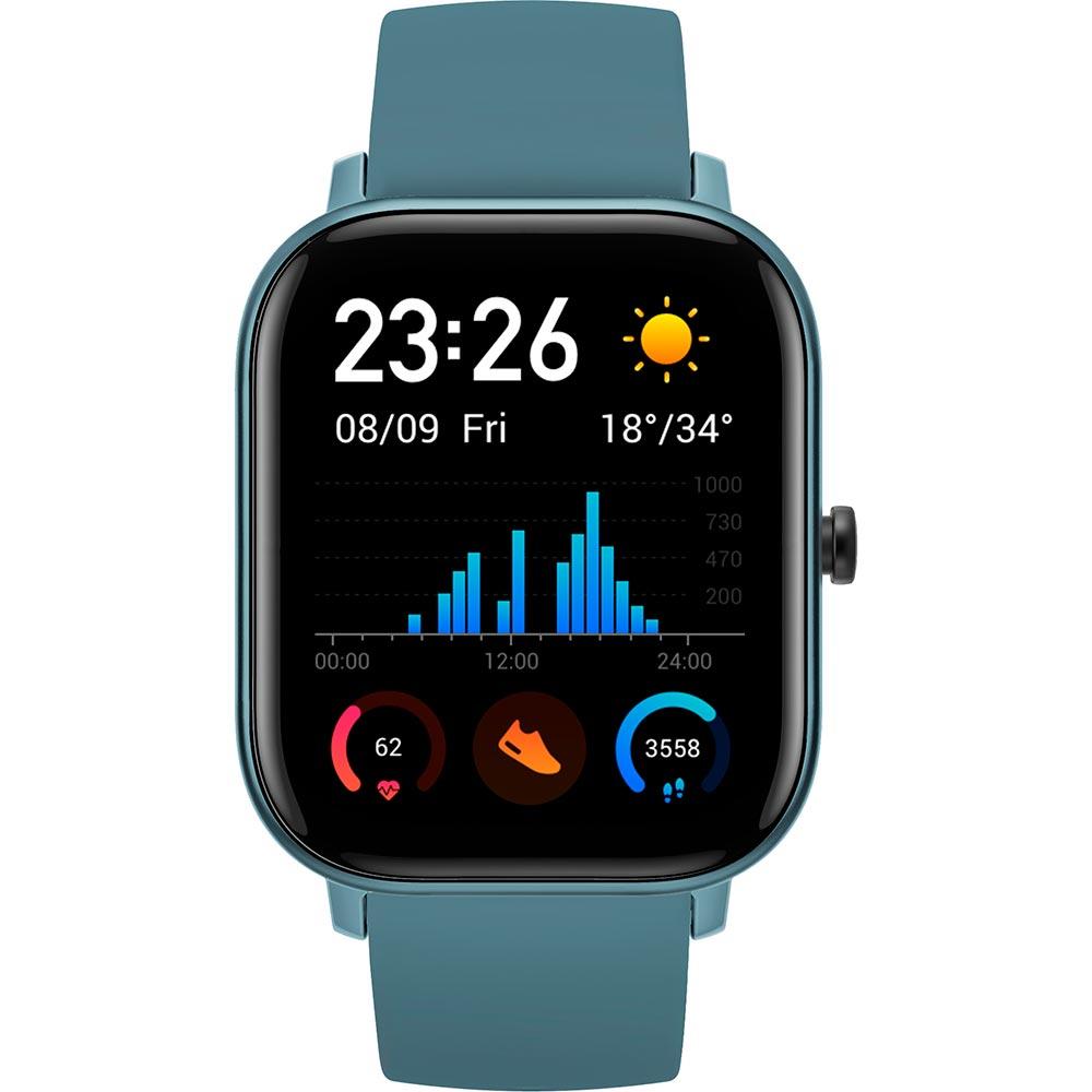 Смарт-часы XIAOMI Amazfit GTS Steel Blue Функциональность для взрослых