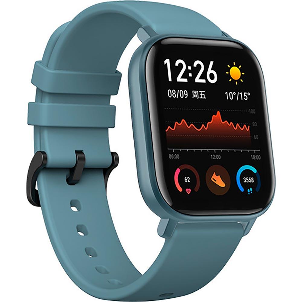Смарт-часы XIAOMI Amazfit GTS Steel Blue Операционная система Amazfit OS