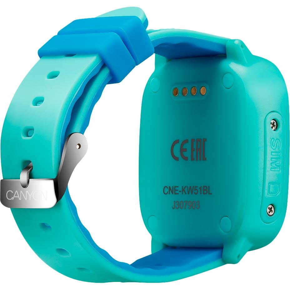 Смарт-часы CANYON Polly Blue (CNE-KW51BL) Совместимость Android OS