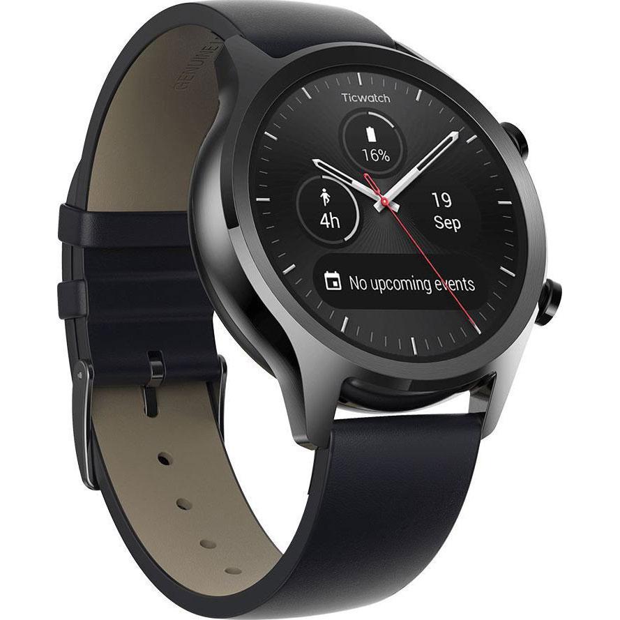 Смарт-годинник MOBVOI TicWatch C2 WG12036 Onyx Black (P1023000400A) Функціональність для дорослих