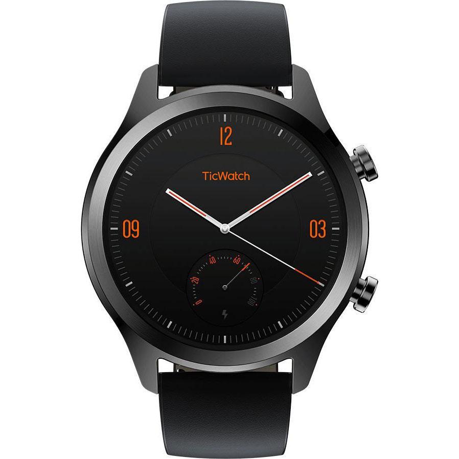 Смарт-годинник MOBVOI TicWatch C2 WG12036 Onyx Black (P1023000400A) Операційна система інша