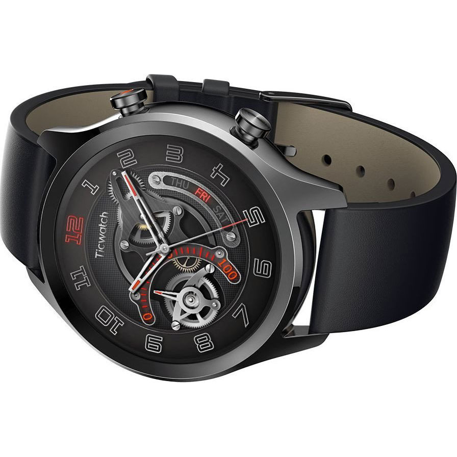 Смарт-годинник MOBVOI TicWatch C2 WG12036 Onyx Black (P1023000400A) Сумісність Android OS