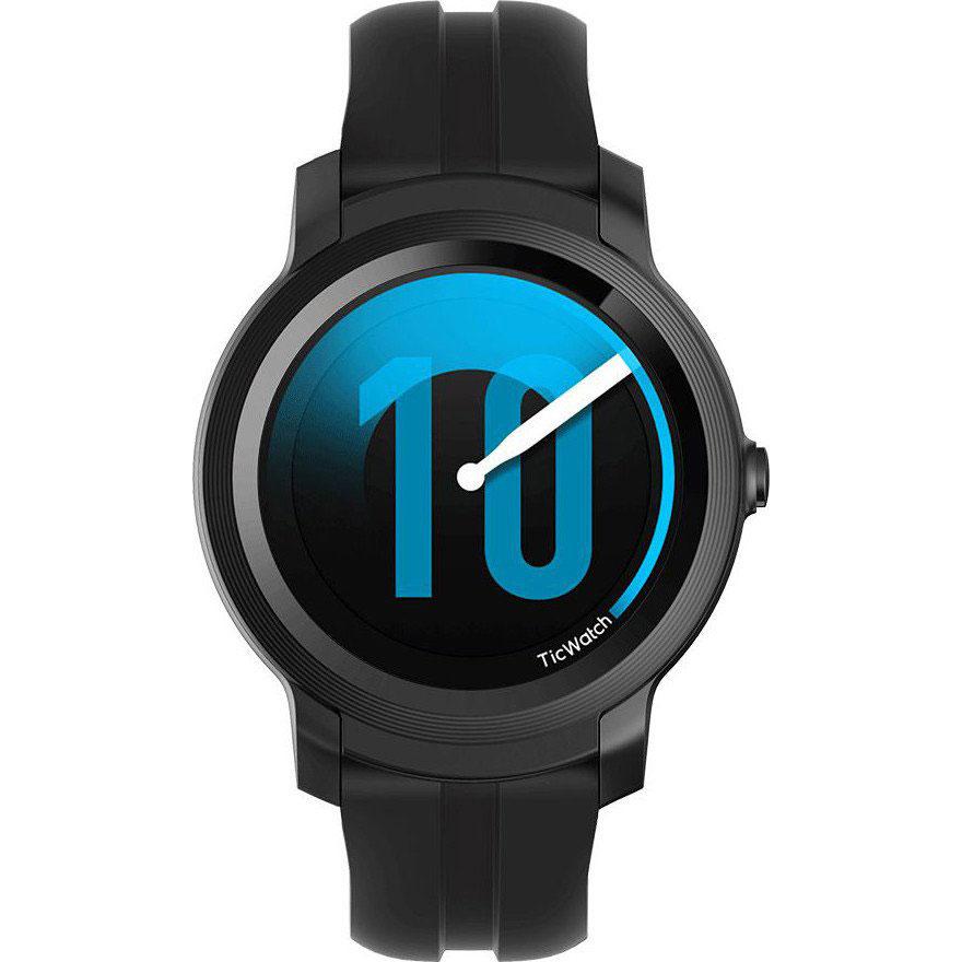 Смарт-годинник MOBVOI TicWatch E2 WG12026 Shadow Black (P1022000600A) Операційна система інша