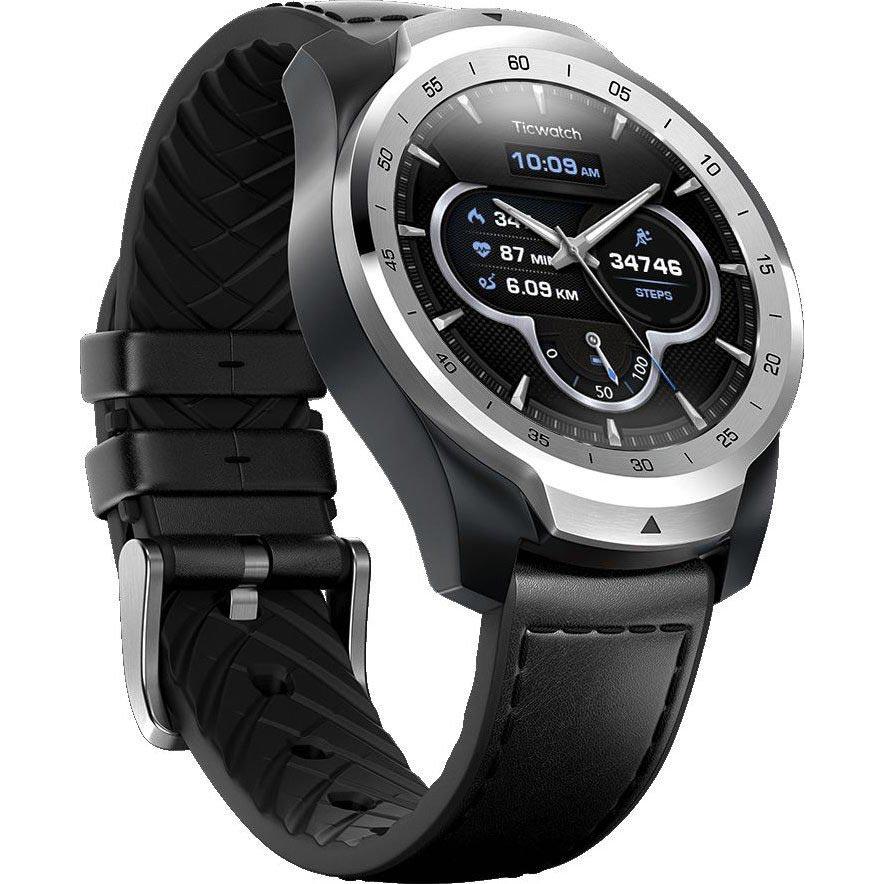 Смарт-годинник MOBVOI TicWatch Pro WF12106 Metal Silver (P1031001100A) Функціональність для дорослих