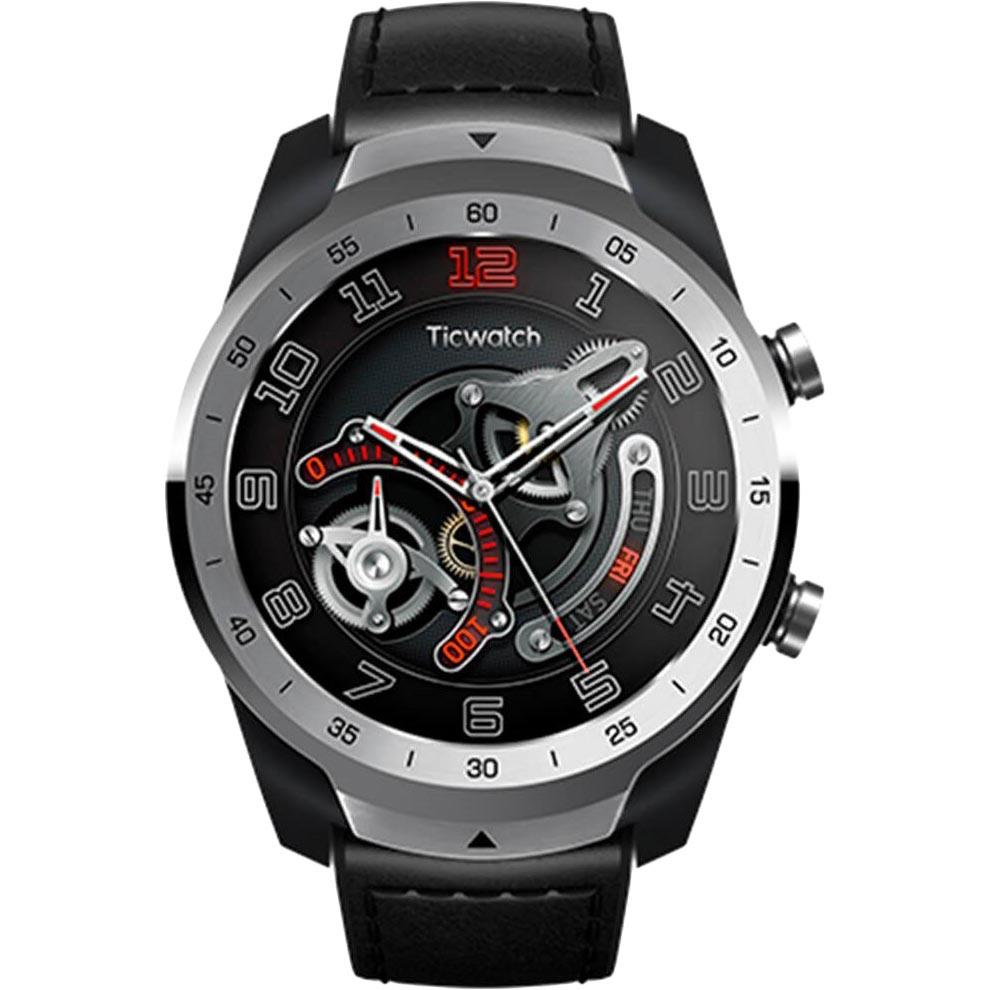 Смарт-годинник MOBVOI TicWatch Pro WF12106 Metal Silver (P1031001100A) Операційна система інша