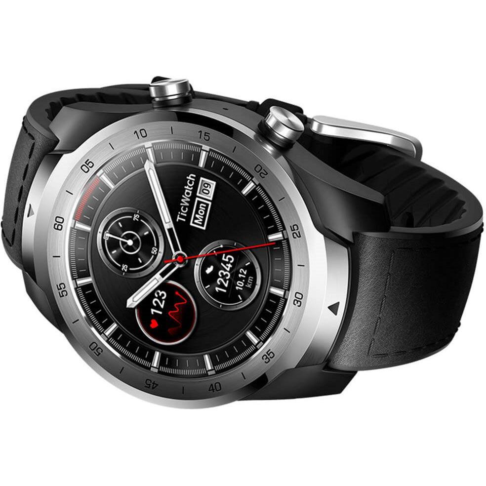 Смарт-годинник MOBVOI TicWatch Pro WF12106 Metal Silver (P1031001100A) Сумісність Android OS