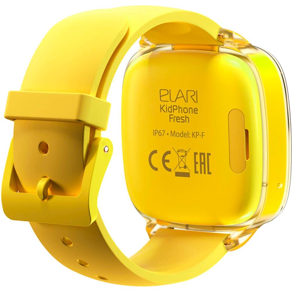 Смарт-годинник ELARI KidPhone Fresh Yellow (KP-F/Yellow) Сумісність iOS (Apple)
