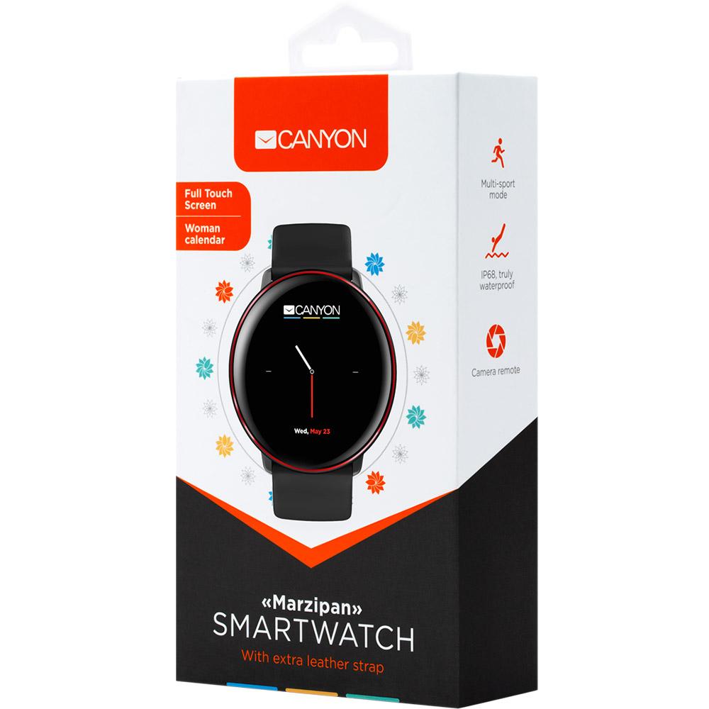 Смарт-годинник CANYON Marzipan (CNS-SW75BR) Сумісність Android OS