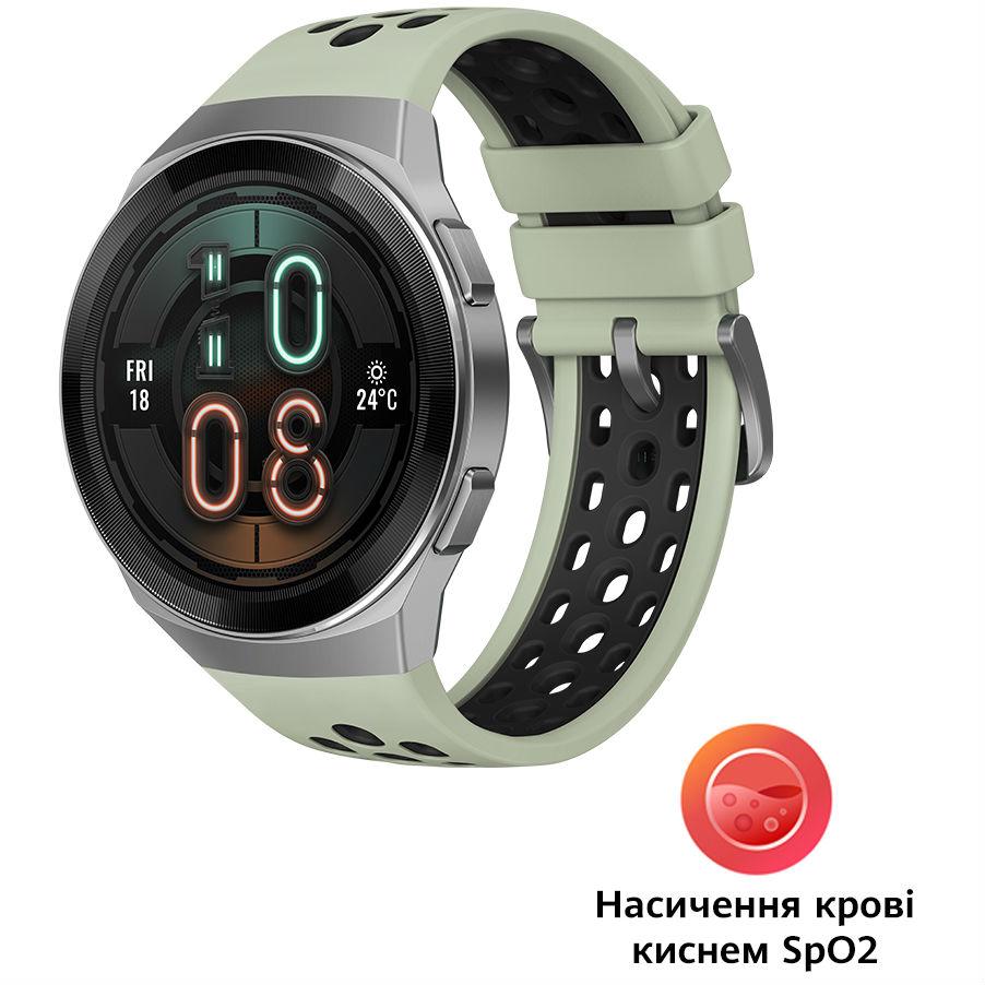 Смарт-часы HUAWEI WATCH GT 2e 46 mm Mint Green Функциональность для взрослых