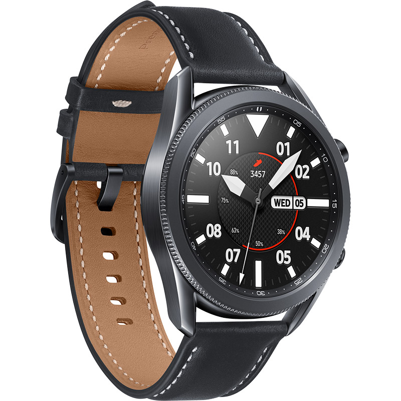 Смарт-годинник SAMSUNG Galaxy Watch 3 45mm Black (SM-R840NZKASEK) Операційна система Tizen
