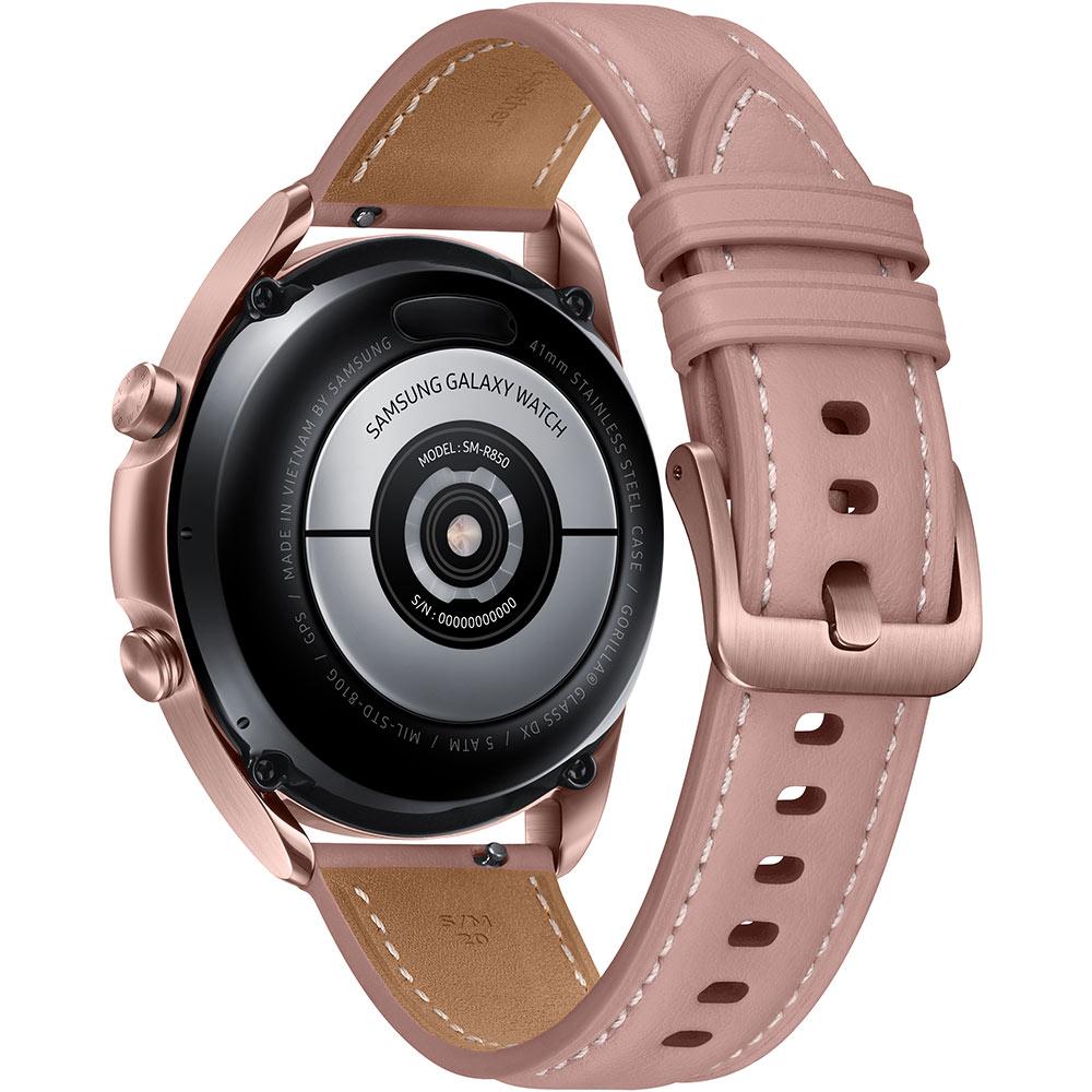 Смарт-часы SAMSUNG Galaxy Watch 3 41mm Bronze (SM-R850NZDASEK) Операционная система Tizen