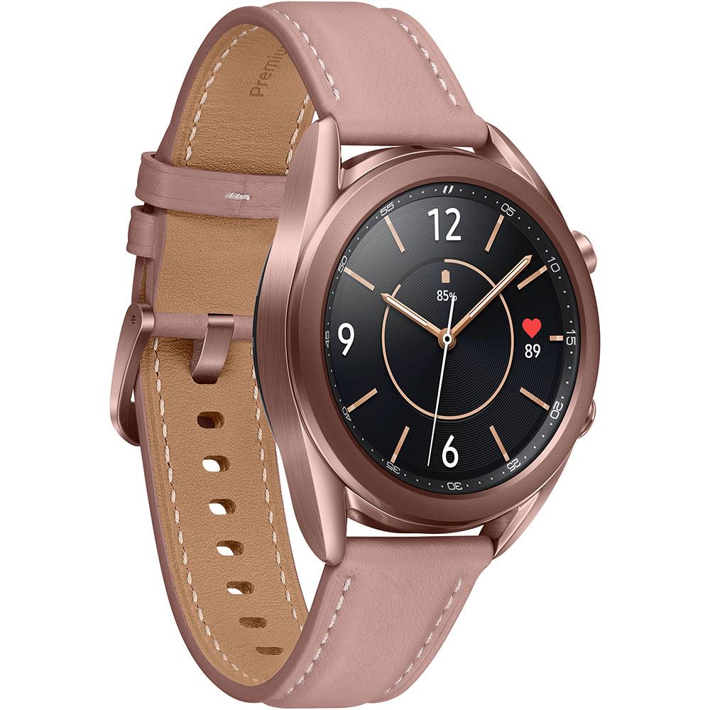 Смарт-часы SAMSUNG Galaxy Watch 3 41mm Bronze (SM-R850NZDASEK) Совместимость Android OS