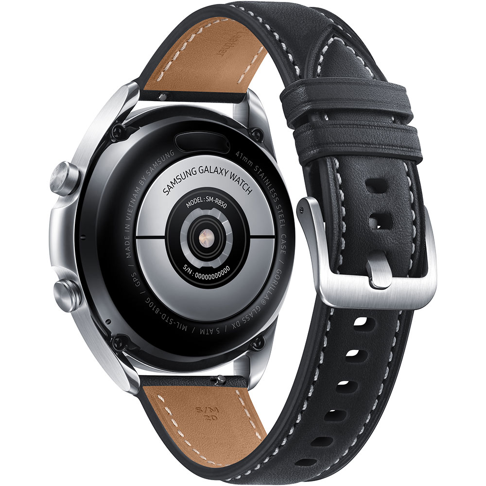 Смарт-часы SAMSUNG Galaxy Watch 3 41mm Silver (SM-R850NZSASEK) Операционная система Tizen