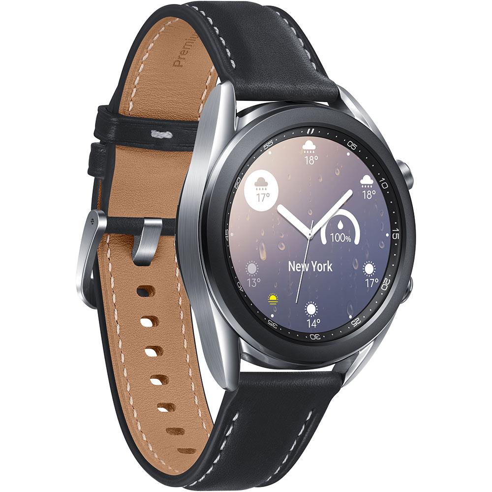 Смарт-часы SAMSUNG Galaxy Watch 3 41mm Silver (SM-R850NZSASEK) Совместимость Android OS