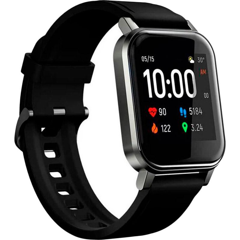 Смарт-годинник HAYLOU Smart Watch 2 (LS02) Black (Haylou-LS02)