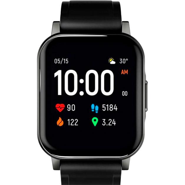 Смарт-годинник HAYLOU Smart Watch 2 (LS02) Black (Haylou-LS02) Функціональність для дорослих