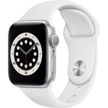 Смарт-часы APPLE Watch S6 GPS 40 Silver Alum White Sp/B (MG283UL/A)