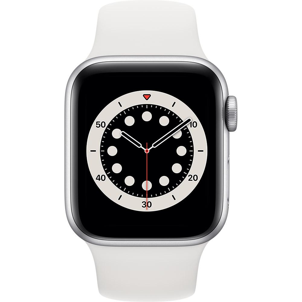 Смарт-часы APPLE Watch S6 GPS 40 Silver Alum White Sp/B (MG283UL/A) Функциональность для взрослых
