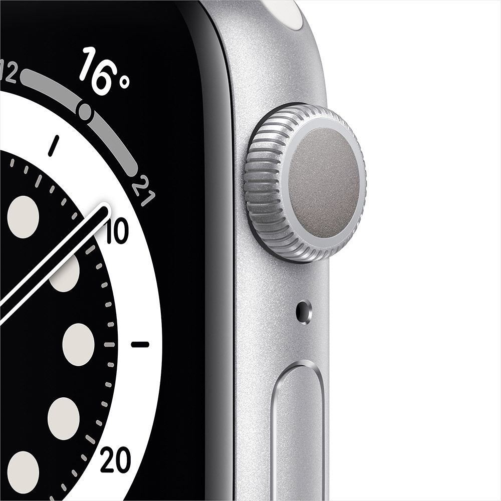 Смарт-часы APPLE Watch S6 GPS 40 Silver Alum White Sp/B (MG283UL/A) Операционная система Watch OS