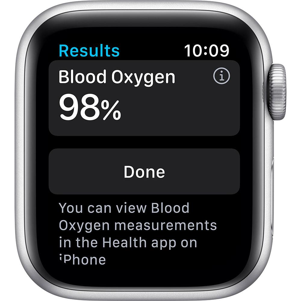 Смарт-часы APPLE Watch S6 GPS 40 Silver Alum White Sp/B (MG283UL/A) Совместимость iOS (Apple)