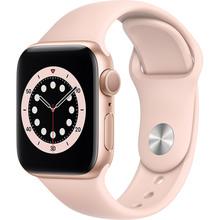Смарт-часы APPLE Watch S6 GPS 40 Gold Alum Pink Sand Sp/B (MG123UL/A)