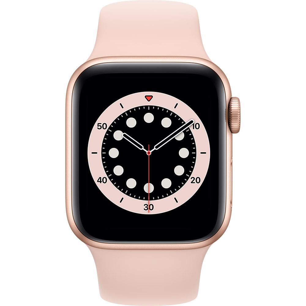 Смарт-часы APPLE Watch S6 GPS 40 Gold Alum Pink Sand Sp/B (MG123UL/A) Функциональность для взрослых