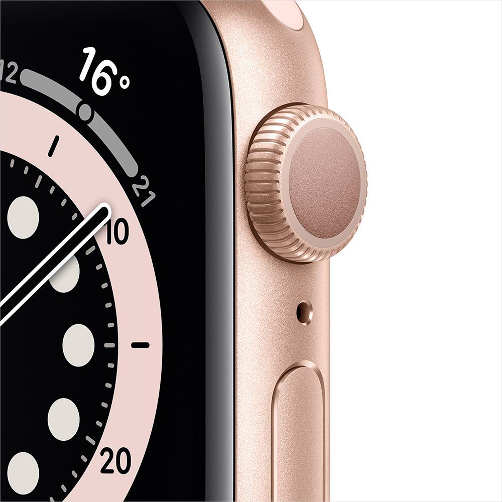 Смарт-часы APPLE Watch S6 GPS 40 Gold Alum Pink Sand Sp/B (MG123UL/A) Операционная система Watch OS