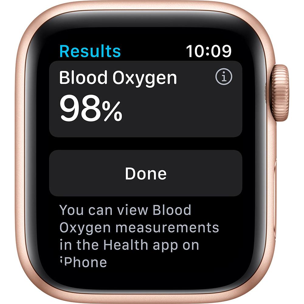 Смарт-часы APPLE Watch S6 GPS 40 Gold Alum Pink Sand Sp/B (MG123UL/A) Совместимость iOS (Apple)