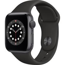Смарт-часы APPLE Watch S6 GPS 40 Space Grey Alum Black Sp/B (MG133UL/A)