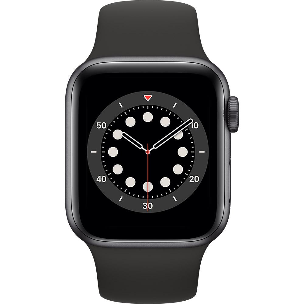 Смарт-годинник APPLE Watch S6 GPS 40 Space Alum Grey Black Sp/B (MG133UL/A) Функціональність для дорослих