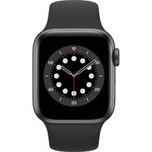 Смарт-годинник APPLE Watch S6 GPS 40 Space Alum Grey Black Sp/B (MG133UL/A)