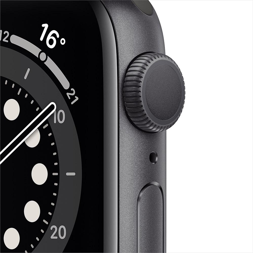 Смарт-годинник APPLE Watch S6 GPS 40 Space Alum Grey Black Sp/B (MG133UL/A) Операційна система Watch OS